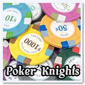 Poker Knights Poker Chips